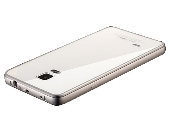Дугообразный алюминиевый чехол для Samsung Galaxy Note 4