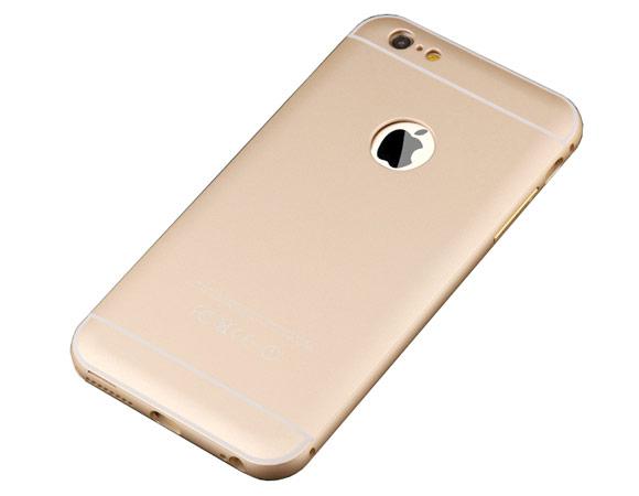 Алюминиевый чехол задняя крышка акрил iphone6 plus