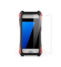 Алюминиевый чехол R-just Amira карбон Samsung S7