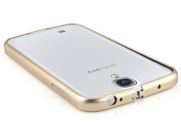 Дугообразный алюминиевый бампер Samsung Galaxy S6