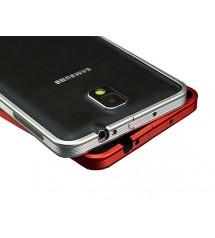 Алюминиевый бампер в полоску для Galaxy Note 3 III N9000