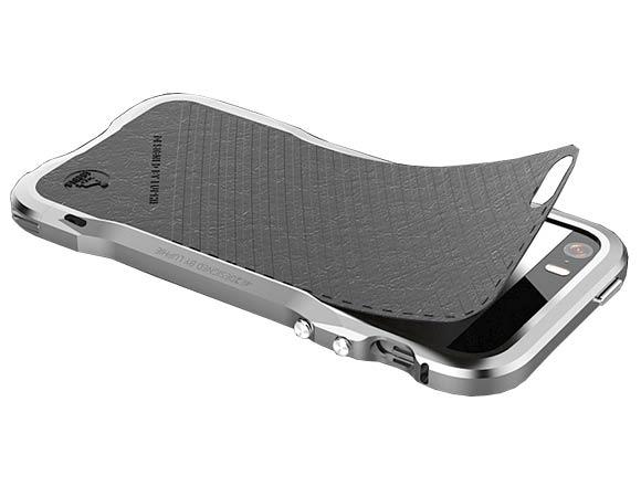 Алюминиевый бампер меч Luphie iPhone55s