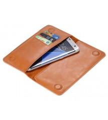 Кожаный чехол бумажник Floveme 5.5 дюйма для samsung iphone
