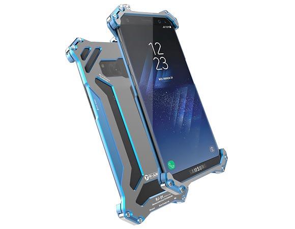 Алюминиевый чехол конструктор R-Just  Gundam Samsung S8