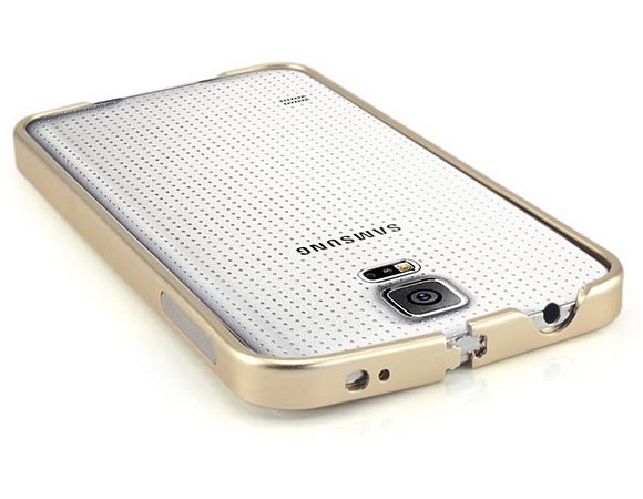 Плоский алюминиевый бампер для Samsung Galaxy s4